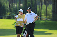 Shane Lowry (IRL) during the second round of the Turkish Airlines Open, Montgomerie Maxx Royal Golf Club, Belek, Turkey. 08/11/2019<br /> Picture: Golffile | Phil INGLIS<br /> <br /> <br /> All photo usage must carry mandatory copyright credit (© Golffile | Phil INGLIS)