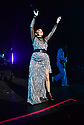 MIAMI BEACH, FLORIDA - NOVEMBER 06: Natalia Clavier of Thievery Corporation in concert at Fillmore Miami Beach at the Jackie Gleason Theater on November 06, 2019 in Miami Beach, Florida.  ( Photo by Johnny Louis / jlnphotography.com )