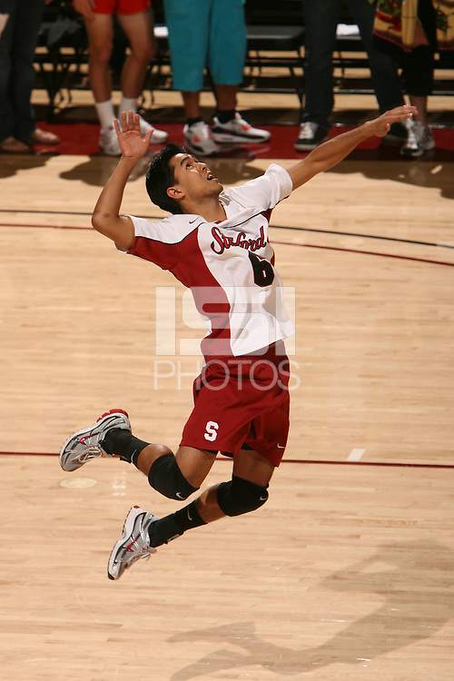 STANFORD, CA - JANUARY 30:  Jordan Inafuku of the Stanford Cardinal during Stanford's 3-2 win over the Long Beach State 49ers on January 30, 2009 at Maples Pavilion in Stanford, California.