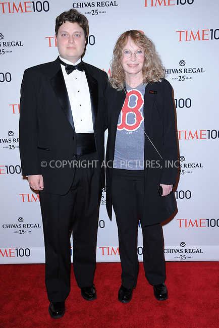 WWW.ACEPIXS.COM . . . . . .April 23, 2013...New York City....Fletcher Previn and Mia Farrow attends TIME 100 Gala, TIME'S 100 Most Influential People In The World at Jazz at Lincoln Center on April 23, 2013 in New York City ....Please byline: KRISTIN CALLAHAN - ACEPIXS.COM.. . . . . . ..Ace Pictures, Inc: ..tel: (212) 243 8787 or (646) 769 0430..e-mail: info@acepixs.com..web: http://www.acepixs.com .