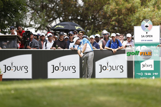 Louis Oosthuizen (RSA) on the 18th tee during the final round of the SA Open, Randpark Golf Club, Johannesburg, Gauteng, South Africa. 8/12/18<br /> Picture: Golffile | Tyrone Winfield<br /> <br /> <br /> All photo usage must carry mandatory copyright credit (&copy; Golffile | Tyrone Winfield)