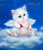 Kayomi, CUTE ANIMALS, paintings, USKH34,#AC# illustrations, pinturas ,everyday