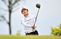 SINGAPORE - FEBRUARY 01: Yu Liu of China on the 6th tee during the second round of the HSBC Women's World Championship 2019 at Sentosa Golf Club - Tanjong Course, Singapore on March 01, 2019.<br /> .<br /> .<br /> .<br /> (Photo by: Naratip Golf Srisupab/SEALs Sports Images)<br /> .<br /> Any image use must include a mandatory credit line adjacent to the content which should read: Naratip Golf Srisupab/SEALs Sports Images