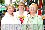 DAY OUT: Joan O'Coffey and Mary O'Connor, Killarney with Mary Hegarty, Kilgarvan enjoying their day out at the Kenmare Fair day on Friday.   Copyright Kerry's Eye 2008