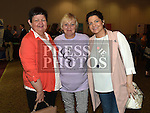 Ann Mehan, Anna Brennan and Joanne McHugh at the NECRET Cancer day at City North Hotel. Photo:Colin Bell/pressphotos.ie