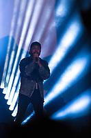 Weeknd performs at the Festival d'ete de Quebec (Quebec Summer Festival) on July 5, 2018.