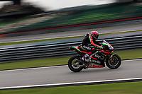 2nd November 2019; Sepang Circuit, Sepang Malaysia; MotoGP Malaysia, Qualifying Day;  The number 41 Aprilia Racing Team Gresini rider Aleix Espargaro during qualifying - Editorial Use