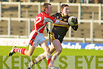 Daithi Casey Dr Crokes George O'Keeffe RathmoreDr Crokes v Rathmore in the O'Donoghue Cup East Kerry final in Killarney on Saturday
