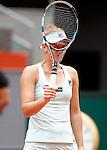 Irina-Camelia Begu, Roumania, during Madrid Open Tennis 2016 match.May, 5, 2016.(ALTERPHOTOS/Acero)
