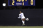 DURHAM, NC - NOVEMBER 17: Duke's Taylor Mitchell. The Duke University Blue Devils hosted the Oklahoma State University Cowboys on November 17, 2017 at Koskinen Stadium in Durham, NC in an NCAA Division I Women's Soccer Tournament Second Round game. Duke won the game 7-0.