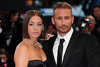 French actress Adele Exarchopoulos, left, and Belgian actor Matthias Schoenaerts walk on the red carpet for the premiere of the movie 'Le Fidele' at the 74th Venice Film Festival on September 8, 2017 in Venice, Italy.<br /> UPDATE IMAGES PRESS/Marilla Sicilia<br /> <br /> *** ONLY FRANCE AND GERMANY SALES ***