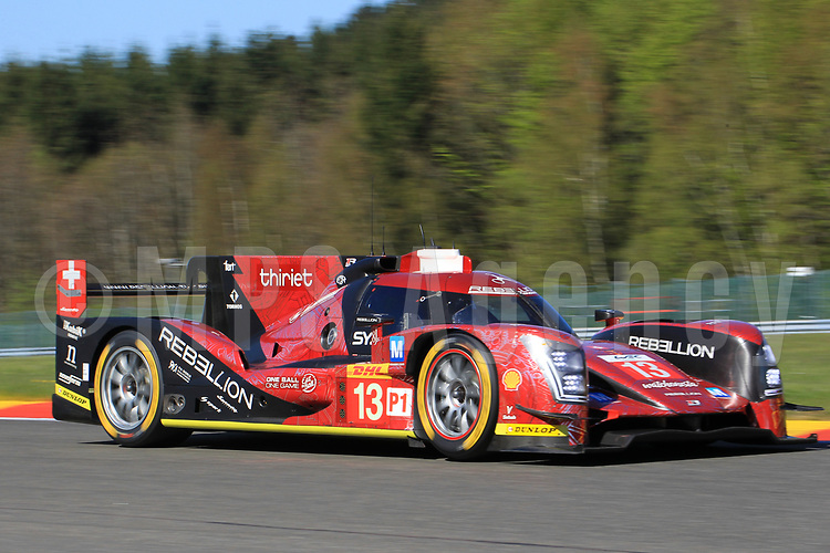 #13 REBELLION RACING (CHE) REBELLION R ONE AER LMP1 MATHEO TUSCHER (CHE) DOMINIK KRAIHAMER (AUT) ALEXANDRE IMPERATORI (CHE)