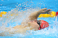 PICTURE BY ALEX BROADWAY /SWPIX.COM - 2012 London Paralympic Games - Day Five - Swimming, Aquatic Centre, Olympic Park, London, England - 03/09/12 - Matthew Whorwood of Great Britain competes in the Men's 200m Individual Medley SM6 Heats.