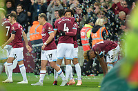 Felipe Anderson Of West Ham United scores the third Goal and celebrates during West Ham United vs Burnley, Premier League Football at The London Stadium on 3rd November 2018