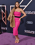 "Dania Ramirez 090 attends the premiere of Columbia Pictures' ""Charlie's Angels"" at Westwood Regency Theater on November 11, 2019 in Los Angeles, California."