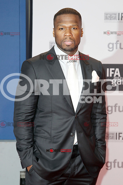 """50 Cent aka Curtis James Jackson III attending the """"IFA Opening Gala"""" at the Palais am Funkturm. Berlin, Germany, 30.08.2012...Credit: Semmer/face to face"""