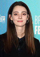 BFI 63rd London Film Festival screening of 'Fanny Lye Deliver'd' at the BFI South Bank, London on October 10th 2019<br /> <br /> Photo by Keith Mayhew