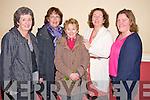 Enjoying the Comhaltas concert in the Gleneagle hotel, Killarney on Friday were Chris Horan, Teresa Corlett, Mary Doody, Teresa Hickey and Hanna Majella O'Donoghue, Killarney.