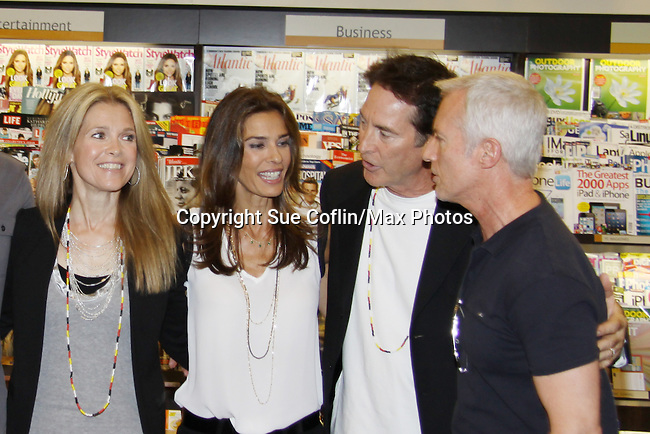 "Days Of Our Lives - Melissa Reeves, Kristian Alfonso, Drake Hogestyn and Greg Meng meet the fans as they sign ""Days Of Our Lives Better Living"" on September 27, 2013 at Books-A-Million in Nashville, Tennessee. (Photo by Sue Coflin/Max Photos)"
