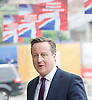 Conservative Party Annual Conference, Manchester, Great Britain <br /> 4th October 2015 <br /> <br /> David Cameron MP<br /> Prime Minister <br /> arriving at conference hotel <br /> <br /> <br /> Photograph by Elliott Franks <br /> Image licensed to Elliott Franks Photography Services