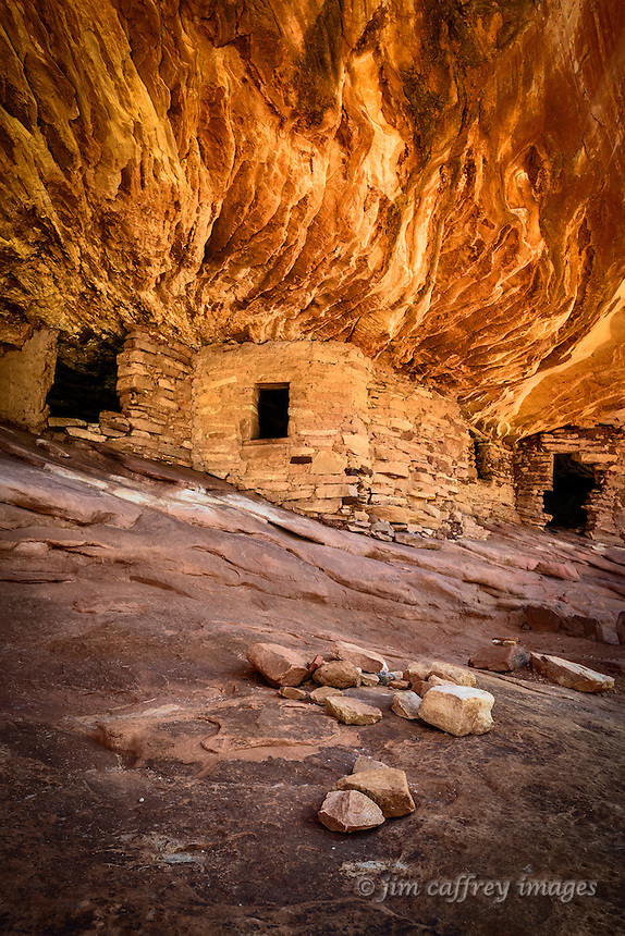 House on Fire Ruins in Utah's Mule Canyon within the newly established Bear's Ears National Monument