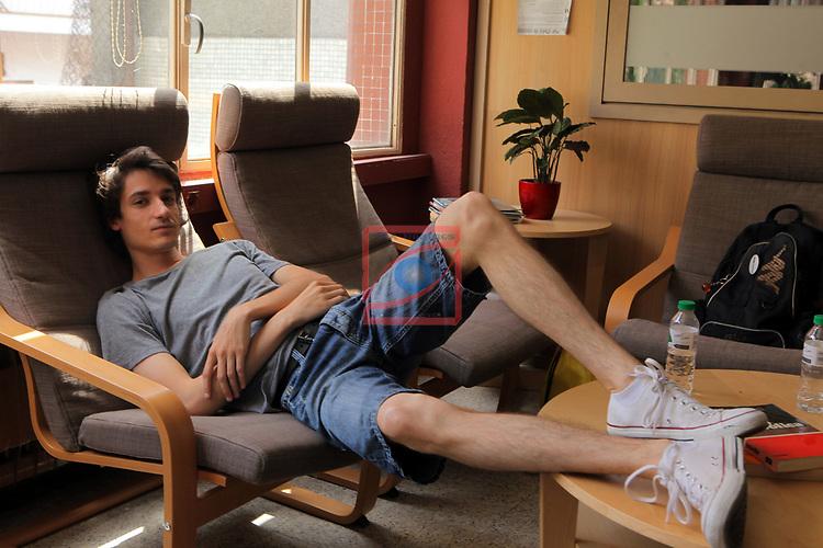 Visita Rodatge Merli. 3a temporada.<br /> Marcos Franz.