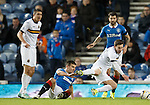 Lee McCulloch flies in to tackle Mitch Megginson