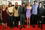 Belen Cuesta (l), Alex Garcia, Adrian Lastra, Marta Nieto, Dani de la Orden and Quim Gutierrez attends the Litus photocall on September 3, 2019 in Madrid, Spain.(ALTERPHOTOS/ItahisaHernandez)