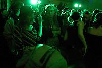 Band Adherents at Autonomous spaces fundraiser, Easton Community Centre, Kilburn Street, Easton, Bristol, Dec 2010.