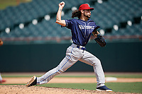 Binghamton Rumble Ponies pitcher Joshua Torres (26) during an Eastern League game against the Bowie Baysox on August 21, 2019 at Prince George's Stadium in Bowie, Maryland.  Bowie defeated Binghamton 7-6 in ten innings.  (Mike Janes/Four Seam Images)