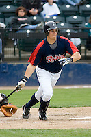 June 1, 2008: Tacoma Rainiers' Bryan LaHair at-bat during at Pacific Coast League game against the Salt Lake Bees at Cheney Stadium in Tacoma, Washington.
