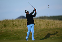 Ahmad Rashad in action during Round 3 of the 2015 Alfred Dunhill Links Championship at the Old Course, St Andrews, in Fife, Scotland on 3/10/15.<br /> Picture: Richard Martin-Roberts | Golffile
