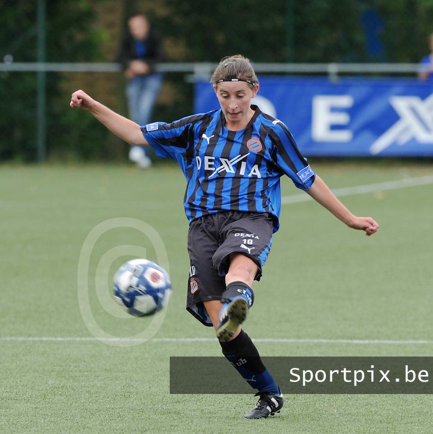 Dames Club Brugge : Lies Van Hamme.foto VDB / BART VANDENBROUCKE