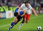 EM Fotos Fussball UEFA Europameisterschaft 2008: Polen - Kroatien