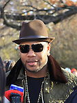 Singer songwriter Flo Rida at the 86th Annual Macy's Thanksgiving Day Parade on November 22, 2012 in New York City, New York. (Photo by Sue Coflin/Max Photos)