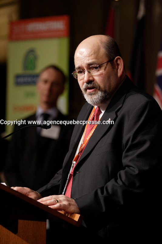 Montreal (QC) CANADA, March 16 to 19 2009 -<br /> Felipe Adrian Vazquez Galvez <br /> , Executive director of the Commission for Environmental Cooperation Secretariat, in Montreal (CEC) and Honorary President for AMERICANA 2009,