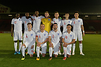 England C Team during England C vs Estonia Under-23, International Friendly Match Football at The Breyer Group Stadium on 10th October 2018