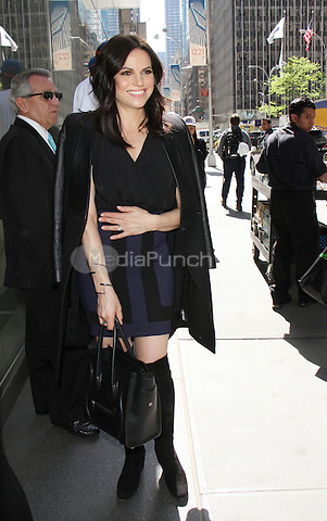 NEW YORK, NY - MAY 11: Lana Parrilla spotted arriving at SiriusXM studios in New York, New York on May 11, 2016. Photo Credit: RW/MediaPunch
