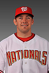 14 March 2008: ..Portrait of Luke Montz, Washington Nationals Minor League player at Spring Training Camp 2008..Mandatory Photo Credit: Ed Wolfstein Photo