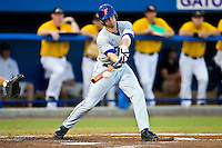 June 07, 2009:  NCAA Super Regional: Southern Miss Golden Eagles vs Florida Gators:    Florida 2b Josh Adams (2) during game two of Super Regional action at Alfred A. McKethan Stadium on the campus of University of Florida in Gainesville.  Southern Miss came from behind to defeat Florida 7-6 and to advance to the College World Series.   ...........