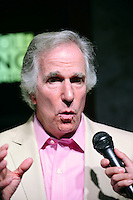 COCONUT CREEK, FL - AUGUST 25: Henry Winkler meets and greets fans and donates his iconic motorcycle from 'Happy Days' at Seminole Casino Coconut Creek on August 25, 2012 in Coconut Creek, Florida.  (photo by: MPI10/MediaPunch Inc.) /NortePhoto.com<br />