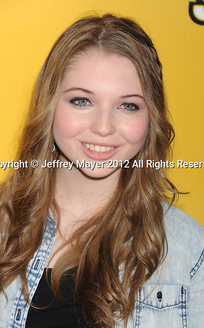 LOS ANGELES, CA - JUNE 05: Sammi Hanratty attends Disney's 'Let It Shine' Premiere held at The Directors Guild Of America on June 5, 2012 in Los Angeles, California.
