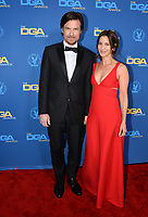 LOS ANGELES, CA. February 02, 2019: Jason Bateman & Amanda Anka at the 71st Annual Directors Guild of America Awards at the Ray Dolby Ballroom.<br /> Picture: Paul Smith/Featureflash