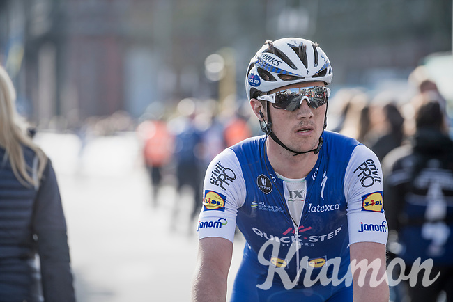 Yves Lampaert (BEL/Quick Step Floors) post-finish<br /> <br /> 79th Gent-Wevelgem 2017 (1.UWT)<br /> 1day race: Deinze &rsaquo; Wevelgem - BEL (249km)
