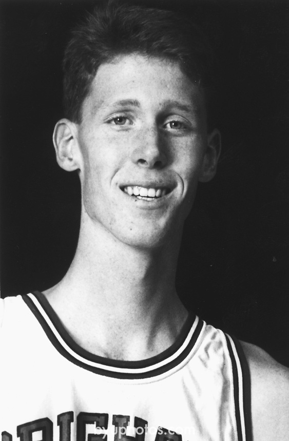Bradley, Shawn mug<br /> <br /> 45 Shawn Bradley<br /> <br /> Photo by Mark A. Philbrick/BYU<br /> <br /> Copyright BYU Photo 2012<br /> All Rights Reserved<br /> photo@byu.edu  (801)422-7322