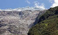 Glacier du Tour, above Tour, France.