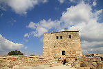 Israel, lower Galilee, the fortrees in Zippori, built by the ceusaders, restored by Daher el Omar in the 18th century