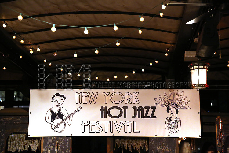 The New York Hot Jazz Festival own September 30, 2018 at The McKittrick Hotel in New York City.