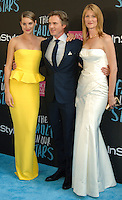 NEW YORK CITY, NY, USA - JUNE 02: Shailene Woodley, Sam Trammell, Laura Dern at the New York Premiere Of 'The Fault In Our Stars' held at Ziegfeld Theatre on June 2, 2014 in New York City, New York, United States. (Photo by Celebrity Monitor)