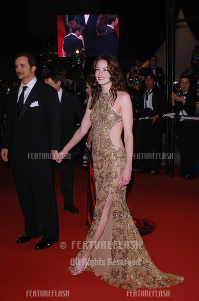 Actress MICHELLE MONAGHAN at the official screening of her new movie Kiss Kiss, Bang Bangat the 58th Annual Film Festival de Cannes..May 14, 2005 Cannes, France..© 2005 Paul Smith / Featureflash